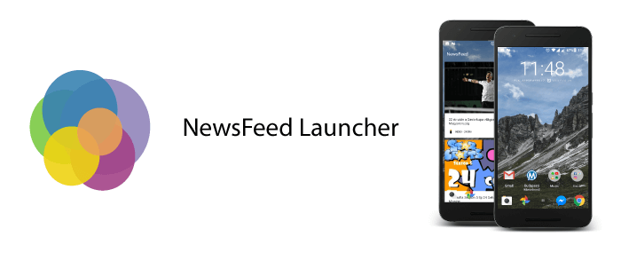 dowload the newsfeed launcher